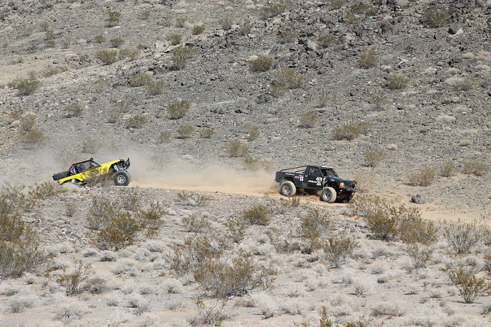 Brittney and Cody at KOH 2016 in Racer #4670 a Jeep Comanche