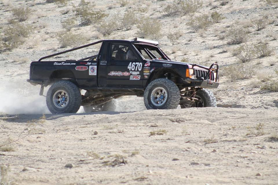 Brittney and Cody at KOH 2016 in #4670 a Jeep Comanche