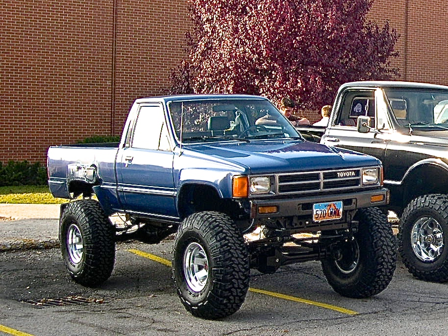 Chris Conk's Toyota Pickup he built while in High School