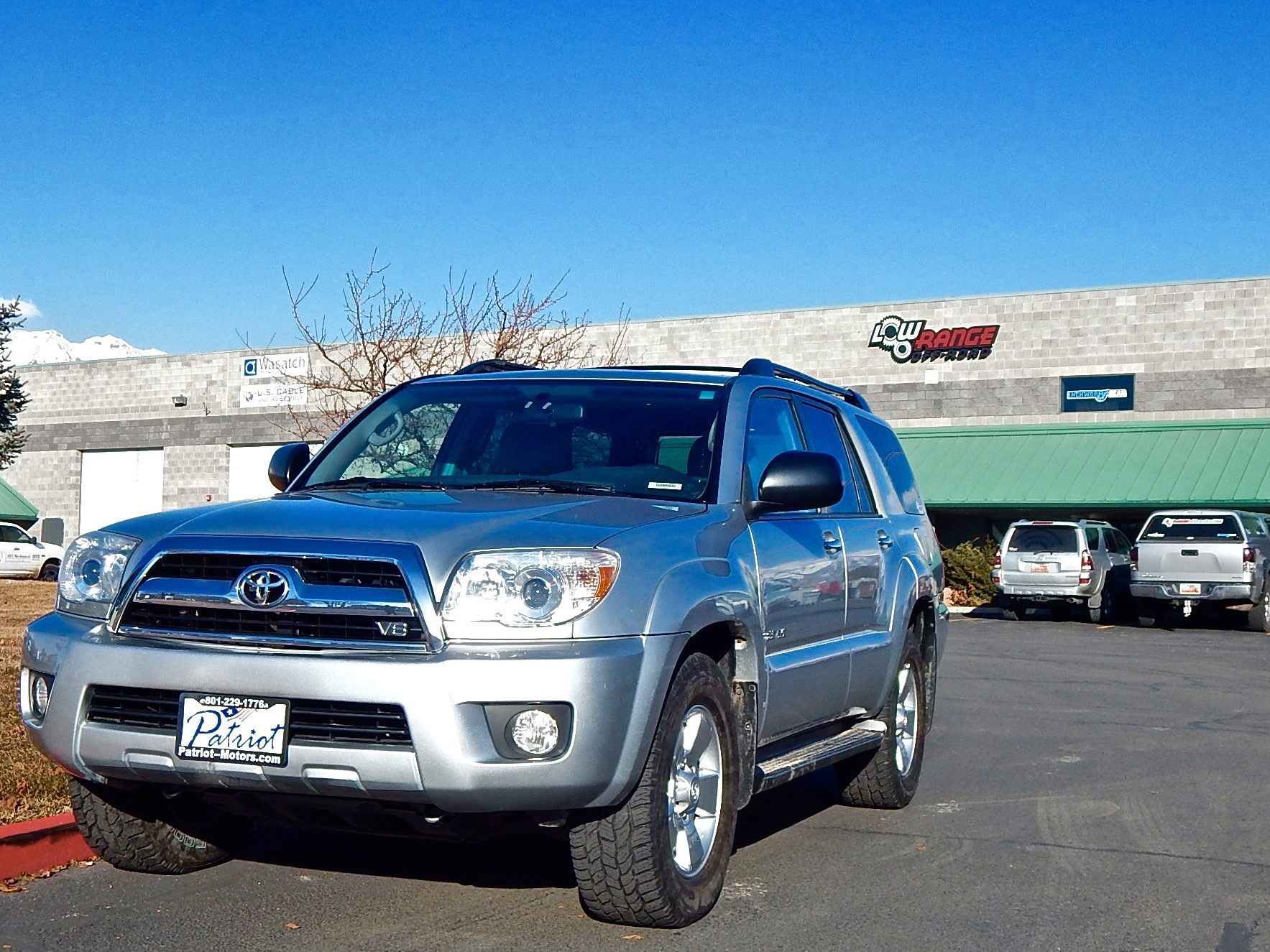 "Mike Atkinson's 2008 Toyota 4Runner before the 3"" OME Lift"