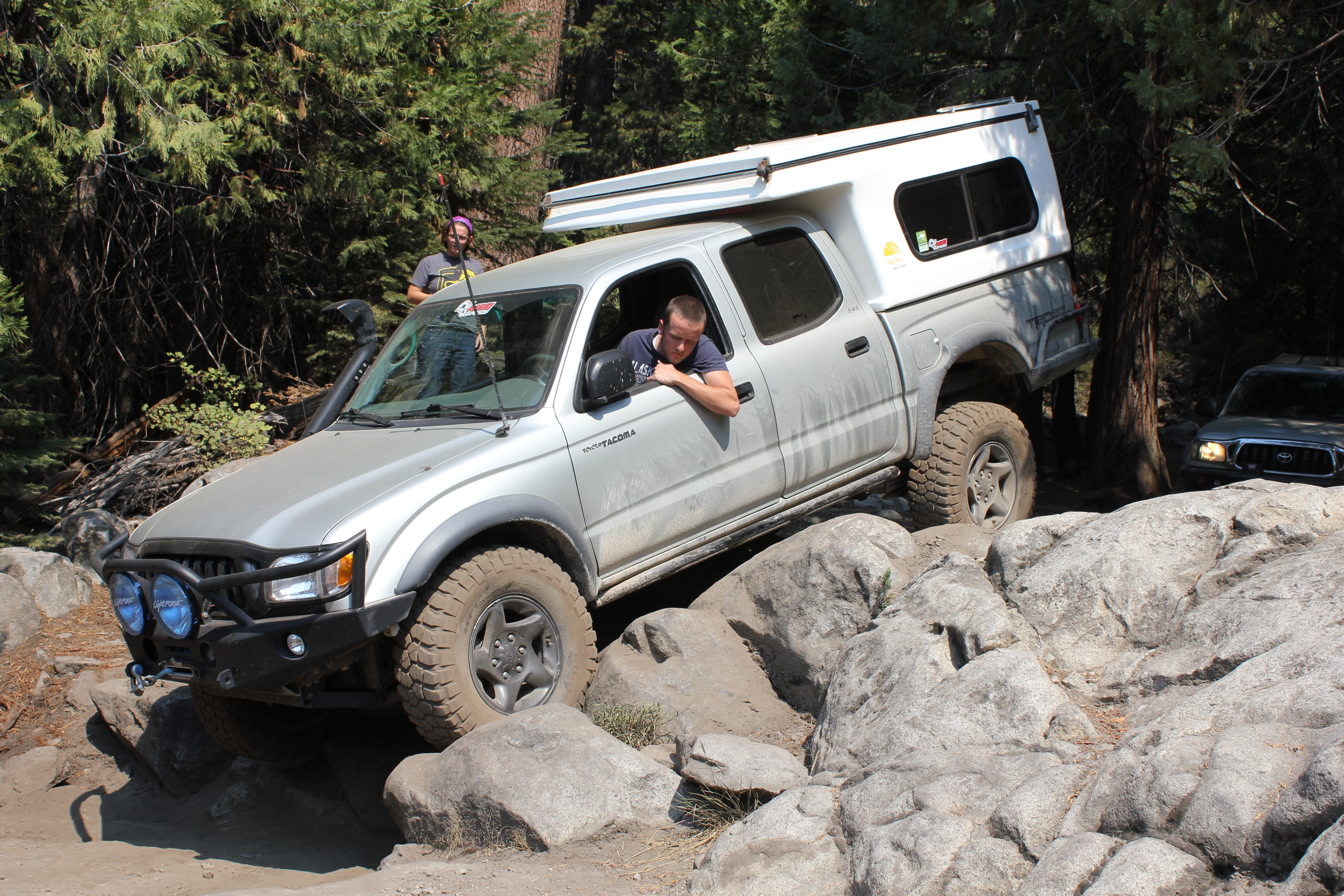 Cadillac Hill on the Rubicon Trail