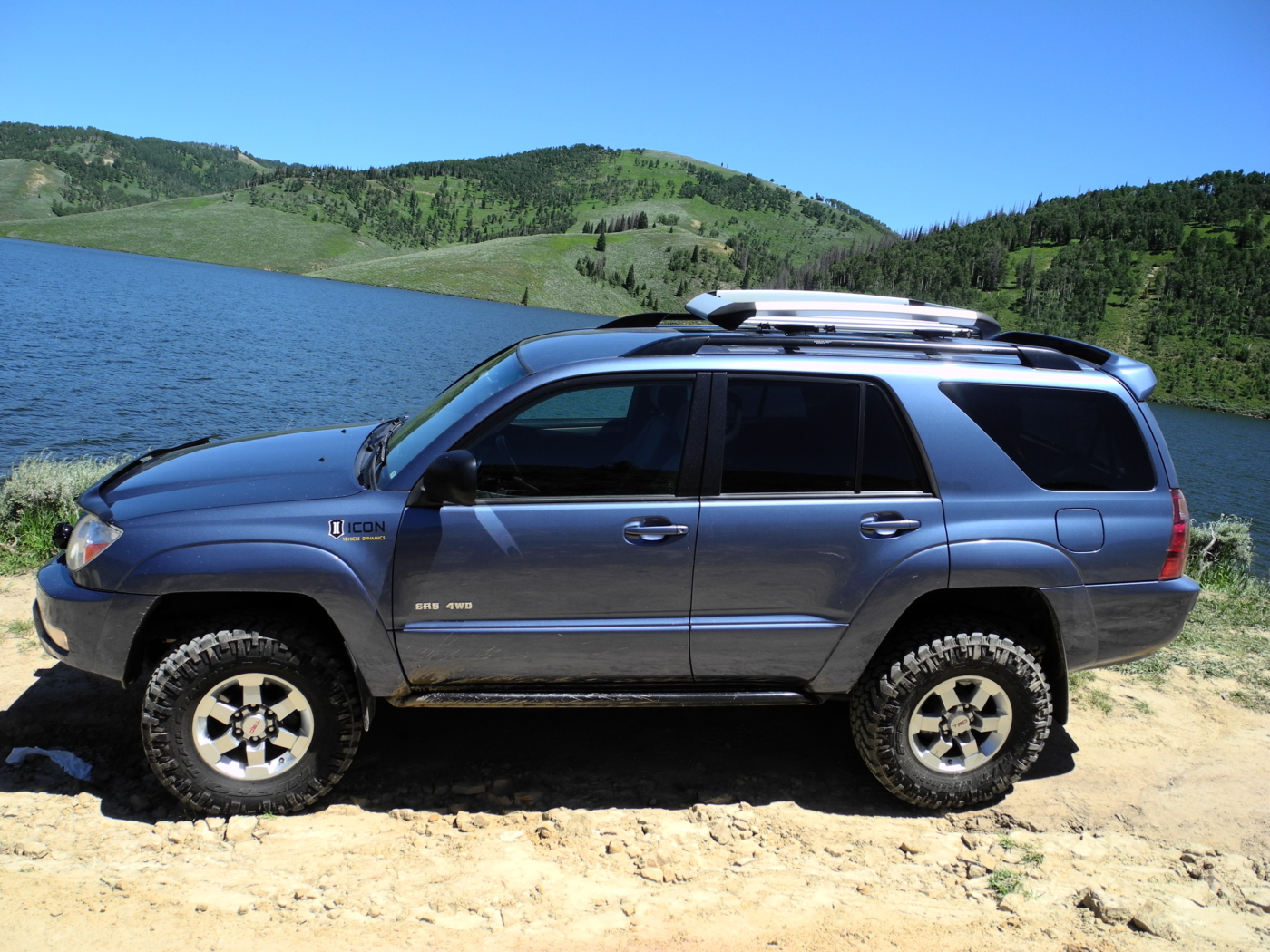 Shane coles 2005 toyota 4runner before recent upgrades