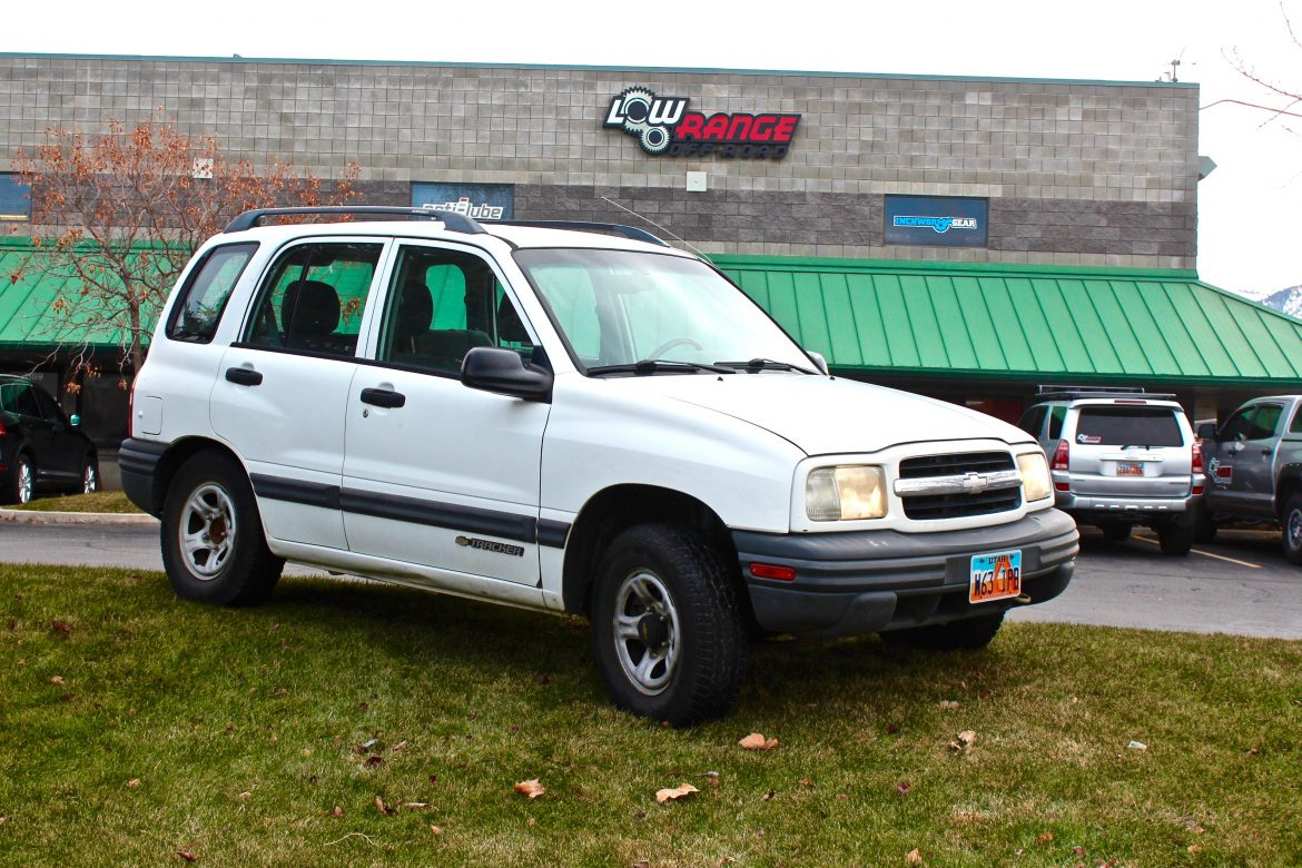 2000 Chevrolet Tracker—January 2017 Project Update | Low Range Off Road Blog
