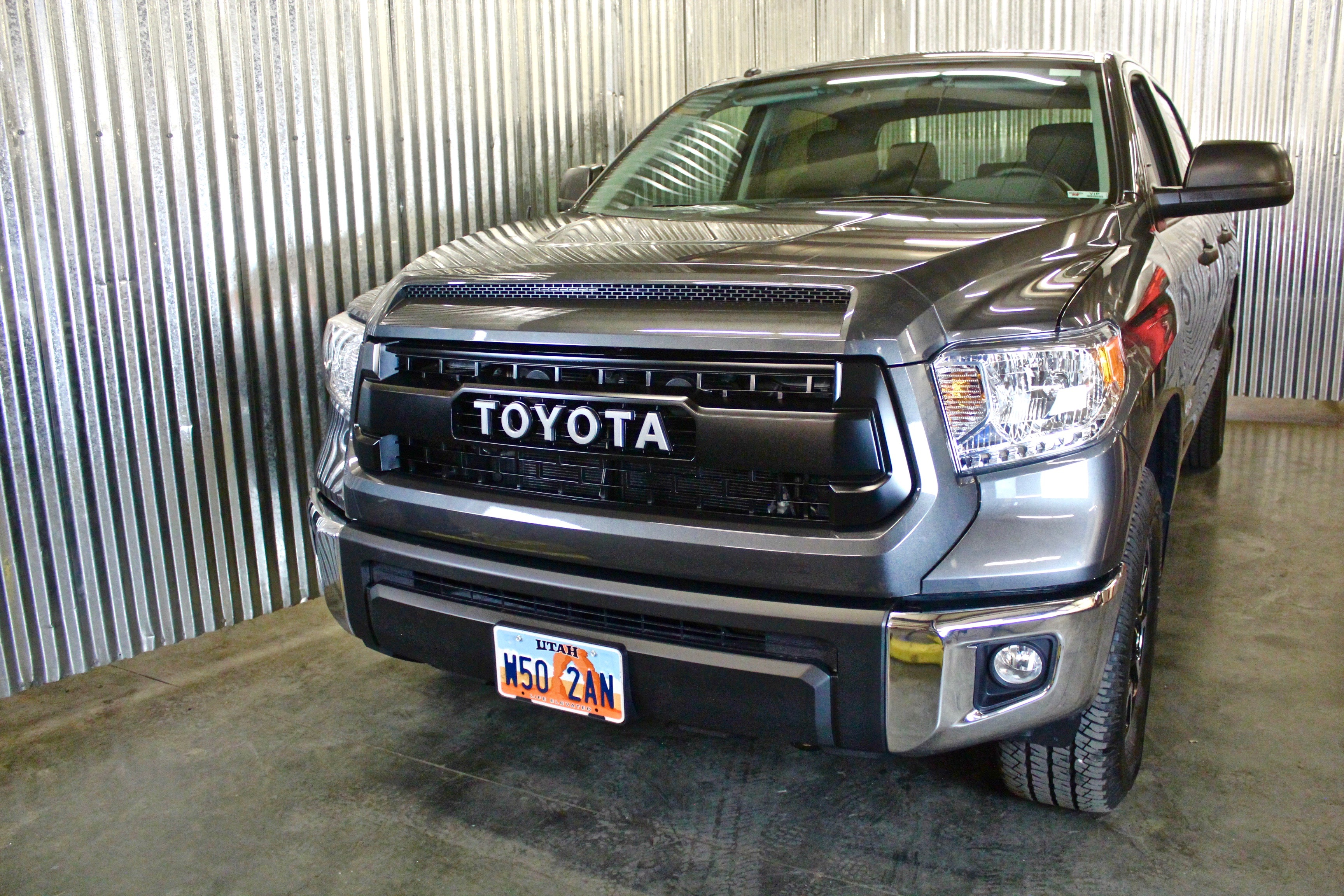2017 Present Toyota Tundra Trd Pro Grille Magnetic Grey By