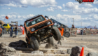 Anthony Anderson's 87 Samurai at 2016 Old School Rock Crawl, Delta Utah, USA
