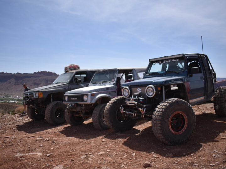 Easter Jeep Safari 2017 Toyota and Suzuki Invasion!